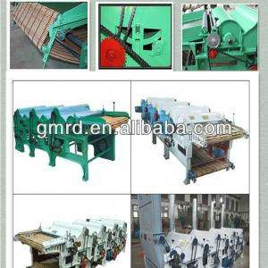 GM250-4 four roller cotton waste recycling machine for spinning or filling