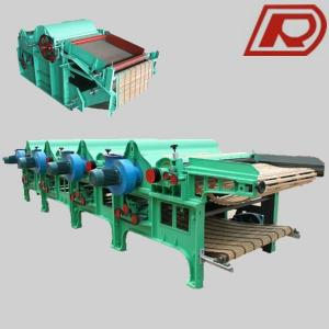 GM250 Four Roller Cotton Waste Recycling Machine