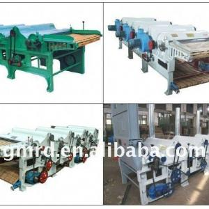GM400-4 four rollers waste fabric recycling machine