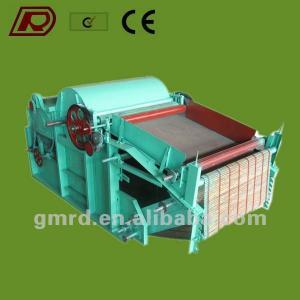 GM400 new design cotton rags waste tearing machine