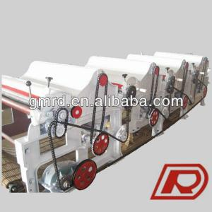 GM410 high efficiency four roller cotton waste cleaning machine