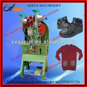 Good-quality and low consumption eyelet fixing machine