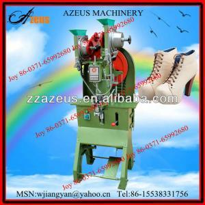 Good-quality and popular eyelet fixing machine