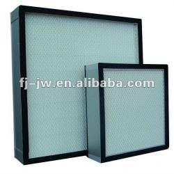 H13, H14 Mini Pleat HEPA Filter for cleanroom, laminar air flow hoods, laboratory