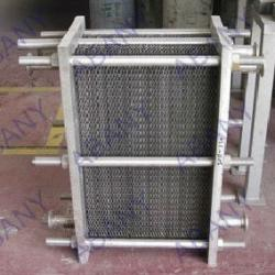 Heat exchanger/wort chiller/cooling chiller for brewhouse