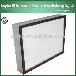 heat-resistant hepa air filter / mini pleat hepa filter