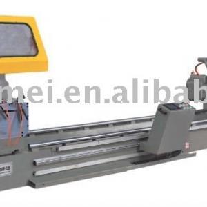 Heavy-duty aluminum digital-control double-head cutting saw