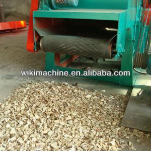 Henan Wood Drum chipper machine wood chip crusher
