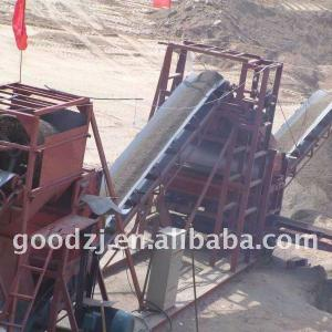 High Capacity River sand Dry Magnetic Separator