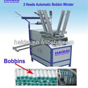 High Efficiency 2 heads Automatic Bobbin Winder