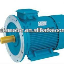 high efficiency IE2 standard three phase electric motor