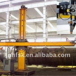 High efficiency pipe welding manipulator