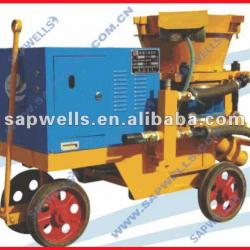 High Efficiency PZ-9 Shotcrete Machine,concrete spraying machine, dry mix shotconcrete machine