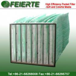 High efficiency Synthetic Pocket Filter