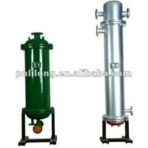 high efficiency water and steam heat exchanger