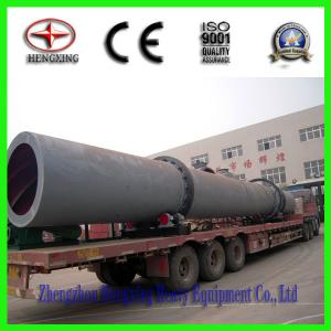 High efficient coal rotary dryer with ISO certification