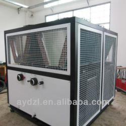 High Efficient Industrial Air cooled Screw Chiller With Double Bitzer Comperssor