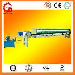 High pressure 800mm Circular frame sludge filter press machine