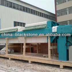 high pressure membrane filter press for distillery dewatering