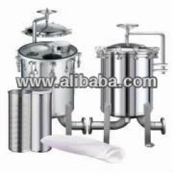 High Pressure Stainless Steel Filter multi-bags Housing