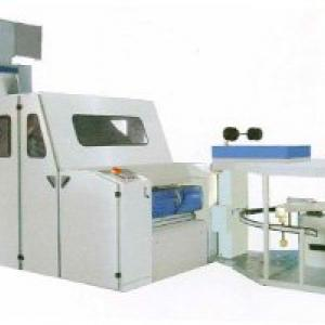 high production carding machine for high pile plush