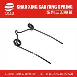 Agricultural implement spring steel strip