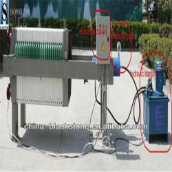 high quality good service dewatering filter press