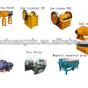 High quality low price iron beneficiation line