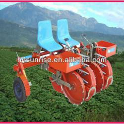 high quality ride-on potato transplanting machine