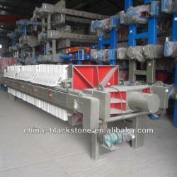 High quality sludge filter press machine