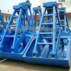 High Quality Two Ropes Grab Clamshell Crane Bucket
