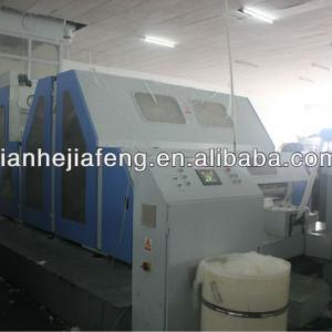 High-Speed Wool Carding and Slivering Machine