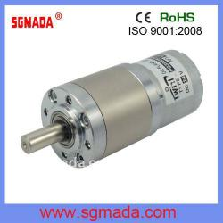 high toque low speed 16mm--60mm planetary gear motor