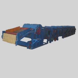 HN250 Six Cylinder Yarn Waste Recycling Machine Line