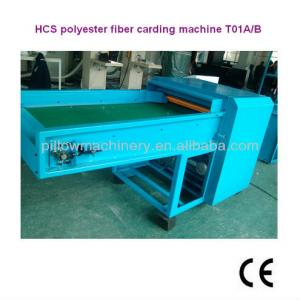 Hollow conjugated siliconized polyester fiber opening machine