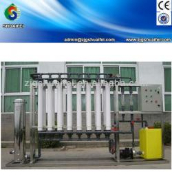Hollow fiber filter for mineral water/carbonated drink