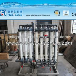 Hollow fibre ultra-filtration