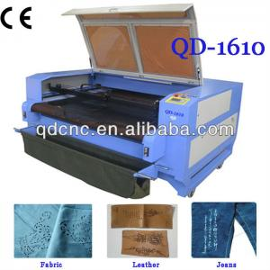 home fabric laser cutting machine/textile laser cutter QD-1610