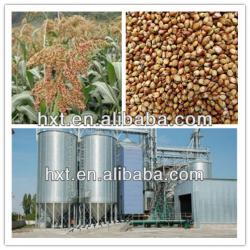 Hopper grain silos used in poultry and animal feed mill
