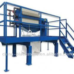Horizontal Vacuum Belt Filter Machine