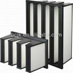 hot sale H13 99.99% Hepa Filter for air conditioner with ISO9001 certificate/air box filter/pp fibre HEPA filter