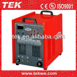HOT SALE!!!WSE200 portable ac dc square ware tig welder 200amps