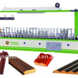 HSHM300BF-C wood profile wrapping with roller coater