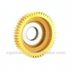 HSS bowl-shape straight teeth gear shaping cutter