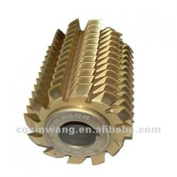 HSS gear hobs for spur and helical gears