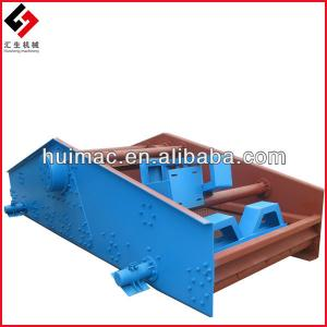 Huisheng Machinery large capacity linear vibrator screen popular used in mining for separating gravels or ores