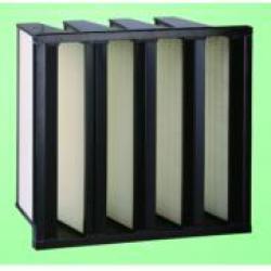HV stainless HEPA air filter