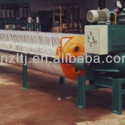 Hydraulic ceramic mud filter press (solid and liquid separating machine)