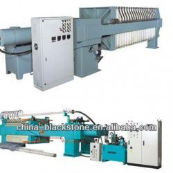 hydraulic membrane flter press automatically discharging