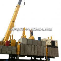 Hydraulic piling machine/ H pile/square pile/concrete spun pile